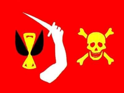 Christopher Moody pirate flag