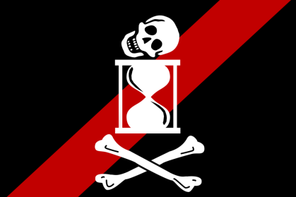 Unknown pirate radio flag