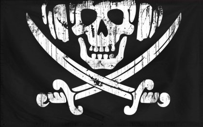 Pirate radio flag
