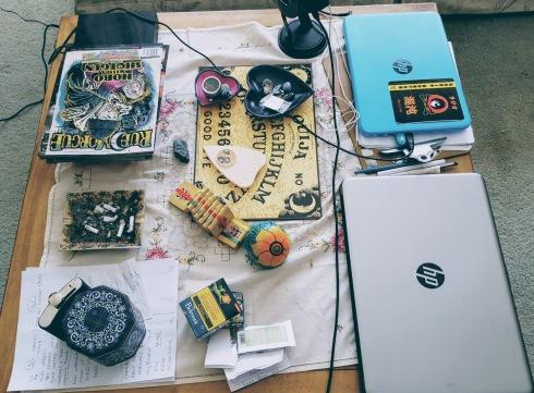 The whole desktop