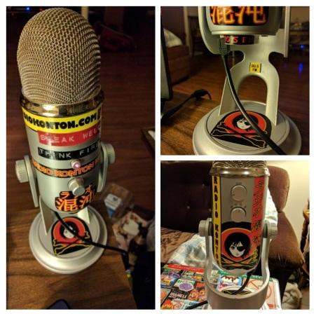 Collage - Disastronaut's mic