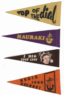 Hauraki Radio Pirate Pennants