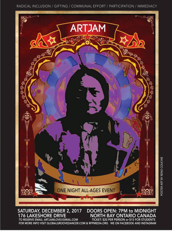 ARTJAM V poster
