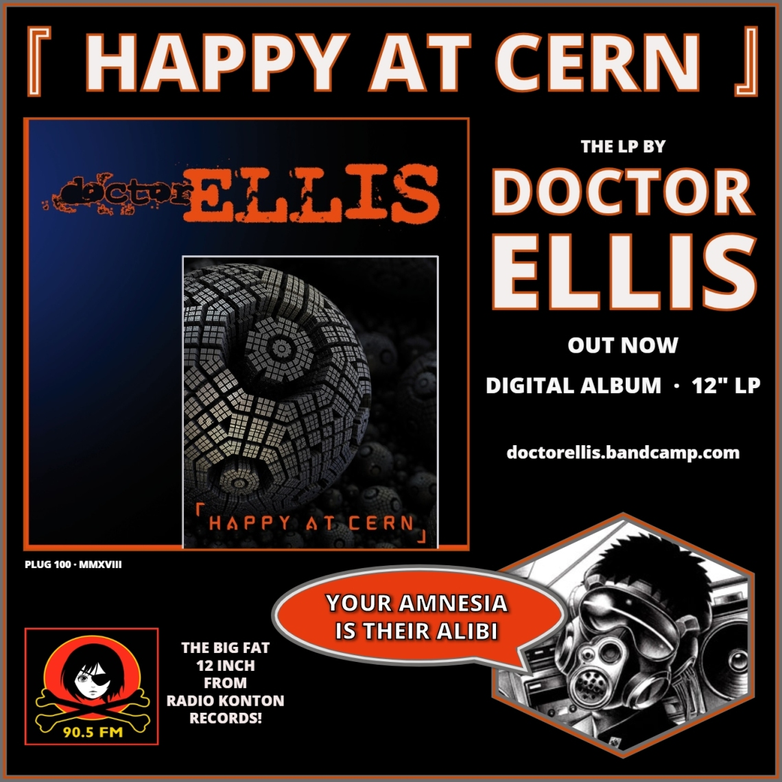 DOCTOR ELLIS - Happy at CERN [advert c]
