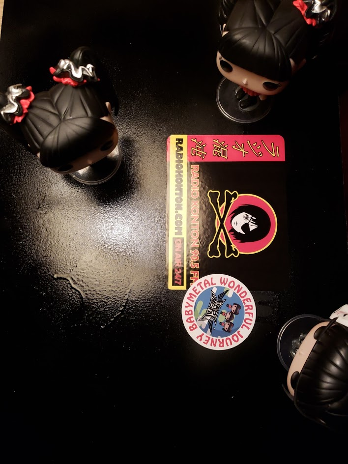BABYMETAL Space Funkos at Radio Konton Studios [2]