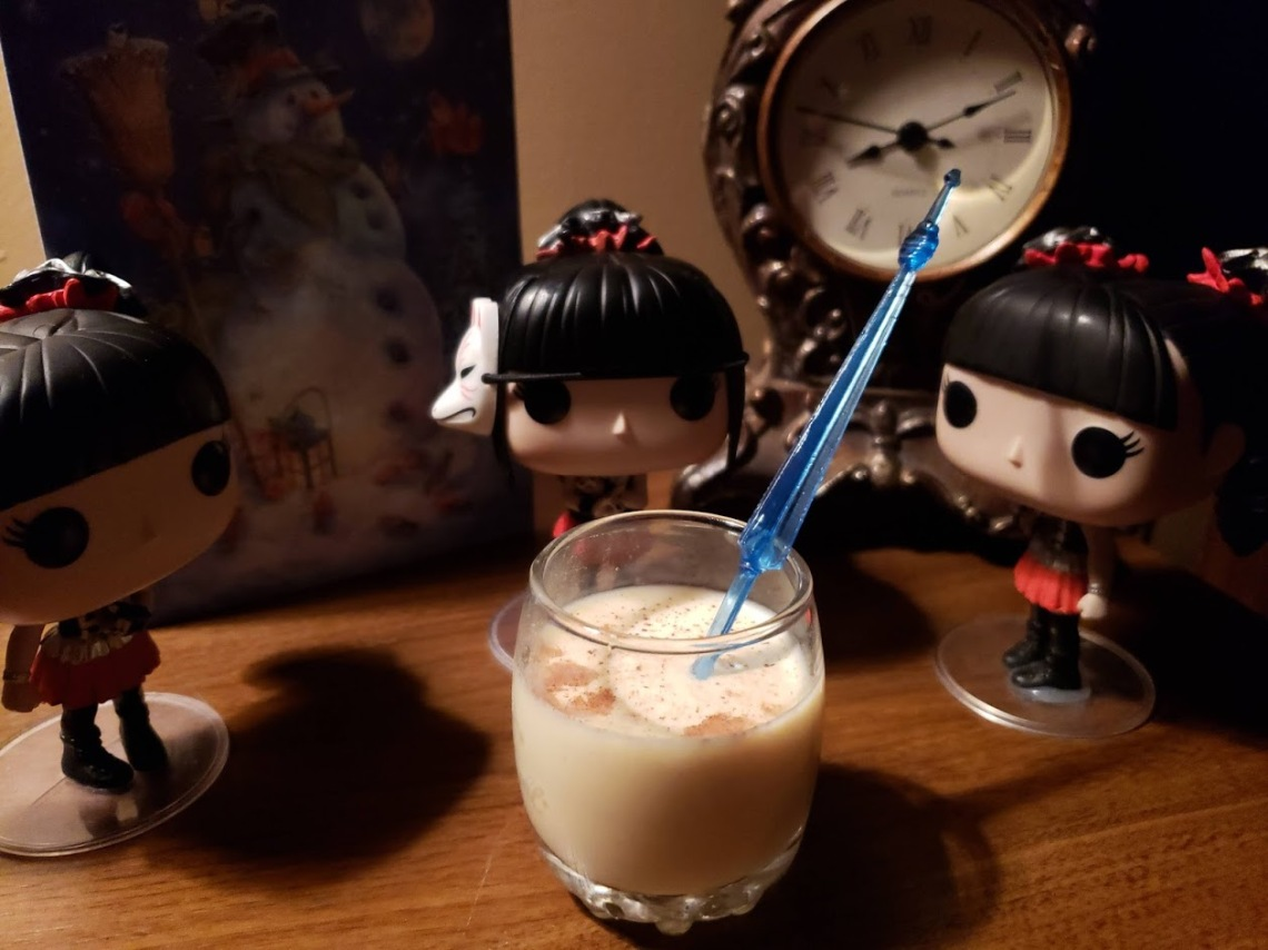 Egg Nog with BABYMETAL Space Funkos